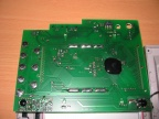 Bottom side of the console PCB.